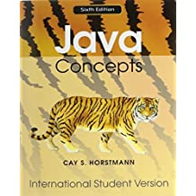 Java Concepts 6E for Java 7 and 8 International Student Version with WileyPLUS Set by Cay S. Horstmann (2010-07-28)