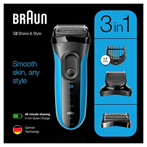 Braun Series 3 3010 BT W&D Afeitadora Eléctrica
