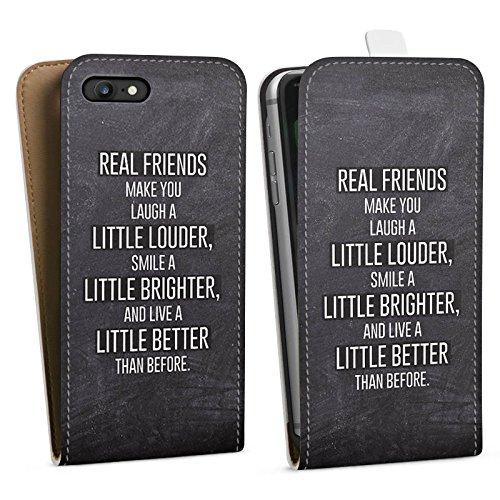 Apple iPhone X Silikon Hülle Case Schutzhülle Freunde Lachen Sprüche Downflip Tasche weiß