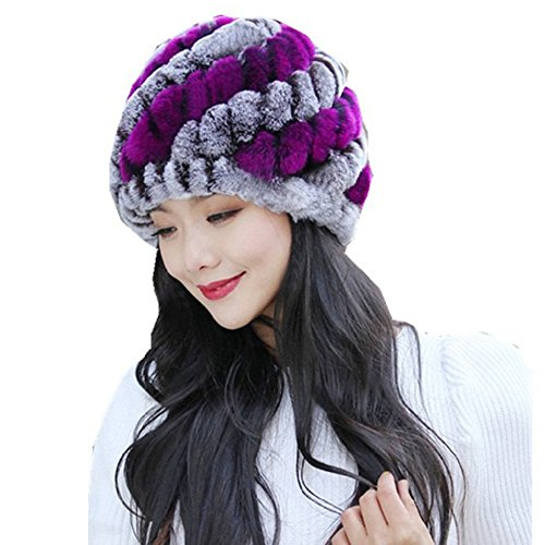 MarryoU Damen Slouch Beanie Grobstrick Hat Damen Mütze Winter Gestrickt Warm...