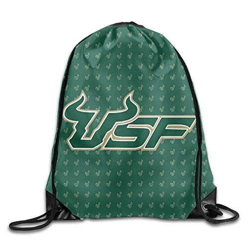 best loved d9413 8254e GONIESA South Florida Bulls USF Drawstring Backpack Sack Beam Port Bag
