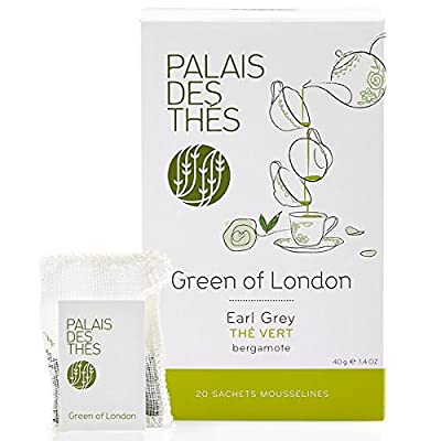 Palais Des Thés - Thé Vert Green Of London - Earl Grey Mao Feng - 20 Sachets