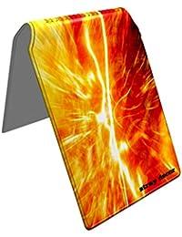 Stray Decor (Fiery Sun) Étui à Cartes / Porte-Cartes pour Titres de Transport, Passe d'autobus, Cartes de Crédit, Navigo Pass, Passe Navigo et Moneo