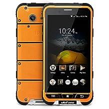 Ulefone ARMOR - 4.7 pulgadas Pantalla Corning Gorilla Glass 3 Impermeable A prueba de choques a prueba de polvo IP68 4G smartphone Android 6.0 Octa Core 1.3GHz 3GB RAM 32GB ROM 5MP + 13MP Cámaras NFC GPS Slim cuerpo - naranja