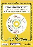 Juegos, Adivinanzas Y Acertijos Ortográficos - Número 1 (+CD)