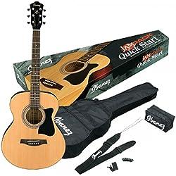 Guitarra Acústica - Ibanez VC50NJP-NT - En color marrón