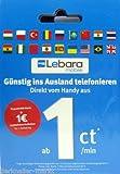 LEBARA Sim Karte mit 1 Euro Startguthaben * gebraucht kaufen  Wird an jeden Ort in Deutschland