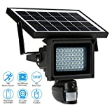 OWSOO 720P Solar DVR Security Camera 40 IR LEDS Solar Floodlight Street Lamp 720P HD CCTV Security Camera DVR Recorder PIR Motion Detection Solar Energy Charge Support PC-CAM TF Card