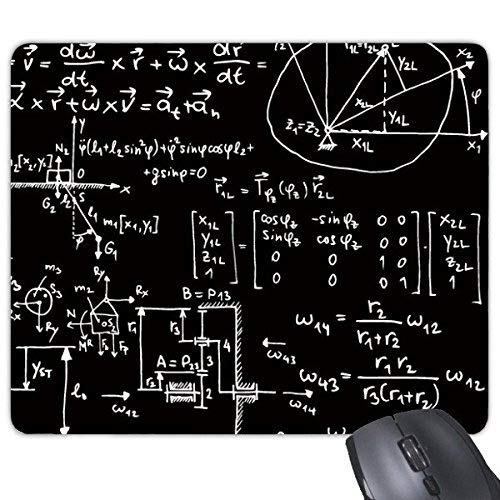 Yanteng Matrix Mathematical Formula Science Calculus Figure Rectangle Anti Slip Rubber Mousepad