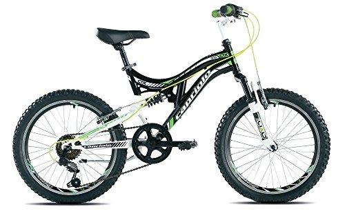 Capriolo Mountainbike 20 Zoll für Kinder /CTX200/, MTB, geeignet für 6 - 9 Jahre, Shimano 6 Gang, vollgefedert