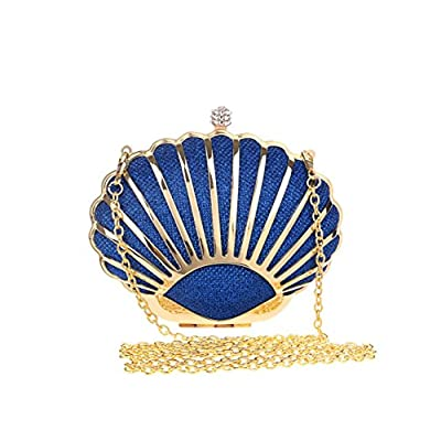 Fashion Metal Evening Bag Ladies Wild Banquet Bag Evening Wear Mini Clutch - clutches