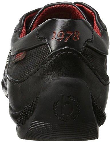 Bugatti 311255011000, Sneakers Basses Homme Noir (Schwarz 1000)