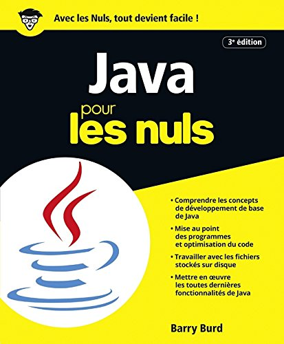 Java pour les Nuls grand format, 3e édition par Barry BURD