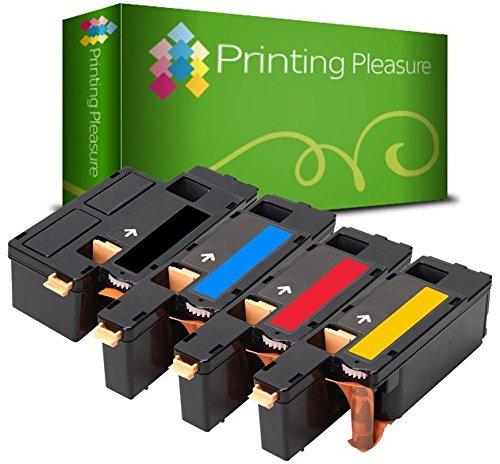 4 Toner Compatibili per Xerox WorkCentre 6015 / 6015 V / 6015 V B / 6015 V N / 6015 V NI / 6015 MFP / Phaser 6000 / 6010 / 6010 V / 6010 V N / 6010 N / 106R01630 / 106R01627 / 106R01628 / 106R01629 Nuovo non Rigenerato