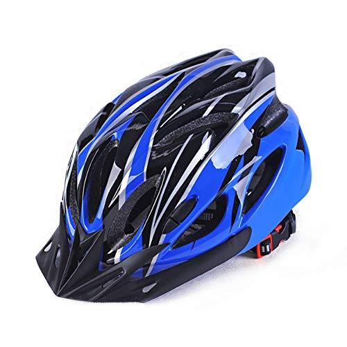 WWSUNNY Fahrradhelm HerrenDamen Kinder-Helm MTB rollerhelm mädchen kinderfahrradhelm für Downhill rennradhelm Mountainbike Inliner skaterhelmfahradhelm Scooter Jungen Bike Helmet-Dunkelblau