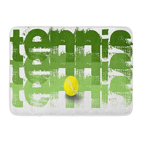 LIS HOME Bad Matte Ball Tennis Spieler Alles Gute zum Geburtstag Captain Australian Badezimmer Dekor Teppich -