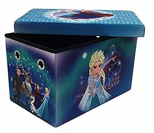 Nickelodeon Banc et Coffre de Stockage Multifonctionnel Pliable Disney Frozen
