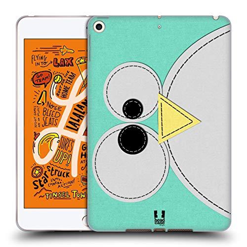 Head Case Designs Penguin Tier Flicken Serie 1 Soft Gel Huelle kompatibel mit iPad Mini (2019) Penguin Gel