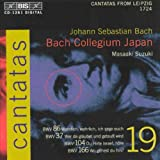 Bach : cantates sacrées vol.19 BWV 86, 37, 104, 166