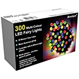 iBoutique 300 LED Extra -Bright Fairy Lights for Christmas / Gardens - Multi-Colour