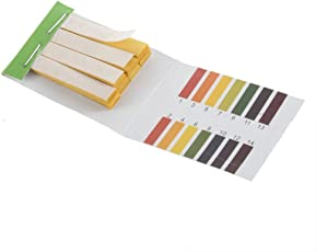 DivineXt 80 Strips Full pH 1-14 Test Indicator Litmus Paper Water Soil Testing Kit