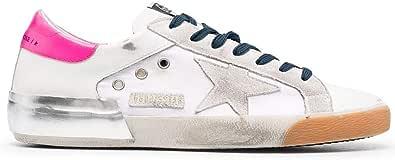 Golden Goose Luxury Fashion Uomo GMF00103F00125110536 Bianco Pelle Sneakers   Stagione Permanente