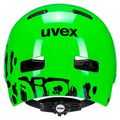 UVEX Kinder Kid 3 Radhelm, Dirtbike Green, 55-58 cm - 2