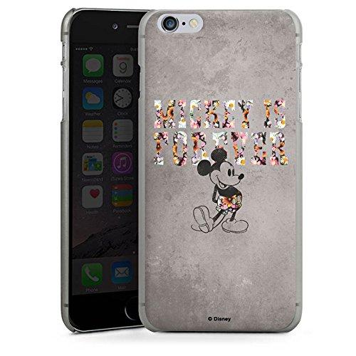 Apple iPhone 8 Silikon Hülle Case Schutzhülle Disney Mickey Mouse Geschenke Merchandise Hard Case anthrazit-klar