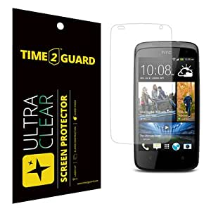 Time 2 Guard Ultra Clear Screen Protector For HTC Desire 500