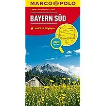 MARCO POLO Karte Deutschland Blatt 13 Bayern Süd 1:200 000 (MARCO POLO Karten 1:200.000)