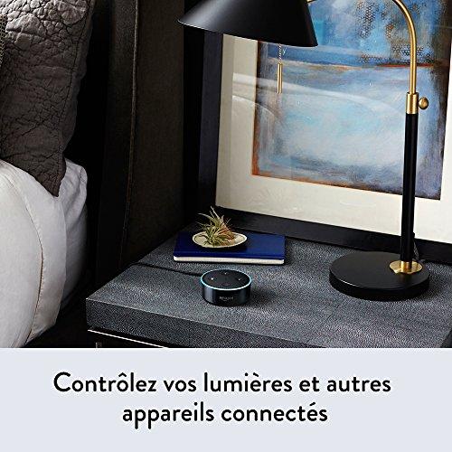 51Mj7pn658L [Bon plan]  Amazon Echo Dot (2ème génération), Noir