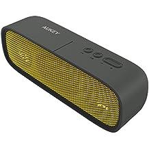 AUKEY Altoparlante Bluetooth 4.1 Speaker Portatile wireless con Microfono e Funzione di AUX, 2x3 Driver e 14 Ore edi Riproduzione per iPhone Samsung LG e altri Smartphones(SK-M7,