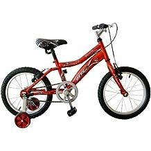 Bicicleta infantil para niño de entre 4 y 6 años Gotty PIRATA, con ruedines,
