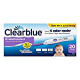 Clearblue Ovulationstest Fortschrittlich & Digital, 20 Tests, 1er Pack (1 x 20 Stück)