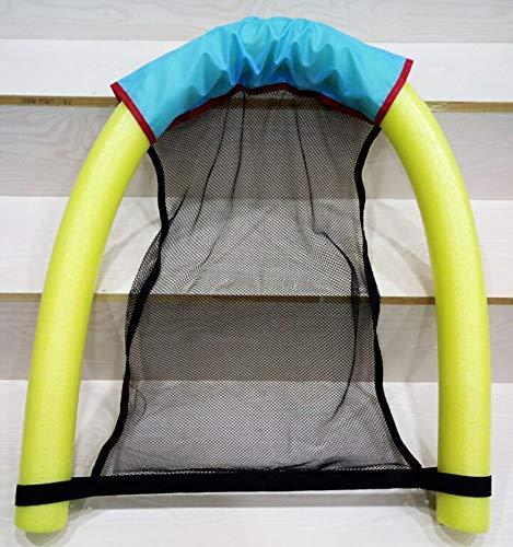 ACOMG Schwimmende Stuhl-Swimmingpool-Sitze, Sich hin- und herbewegende Recliner-Hängematte für Erwachsenen, aufblasbarer Wasser-Sich hin- und herbewegender Reihe-Unterhaltungs-Stuhl,Yellow Packer Boots
