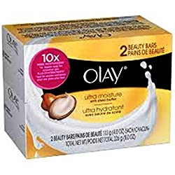 Olay ultra Moisture Beauty Bars Soap, 4oz(113g) 4 Soap