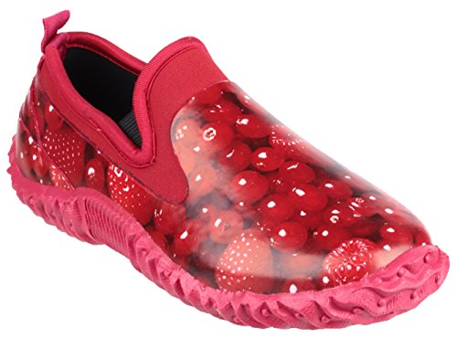 Cotswold , Sandales Plateforme femme Rouge - Rouge framboise