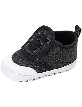 Babyschuhe Longra Baby Schuhe für Neugeborene Mädchen Jungen Krabbelschuhe Soft Sole Schuh Sneakers(0 ~ 18 Monate)