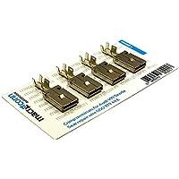 Macroconn crimp terminals for repair wire 000979132E 6 pieces
