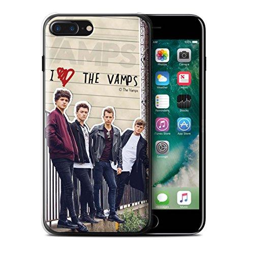Officiel The Vamps Coque / Etui pour Apple iPhone 7 Plus / Tristan Design / The Vamps Journal Secret Collection Groupe