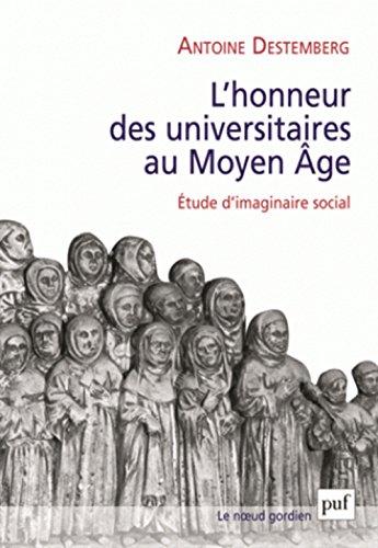 L'honneur des universitaires au Moyen Âge