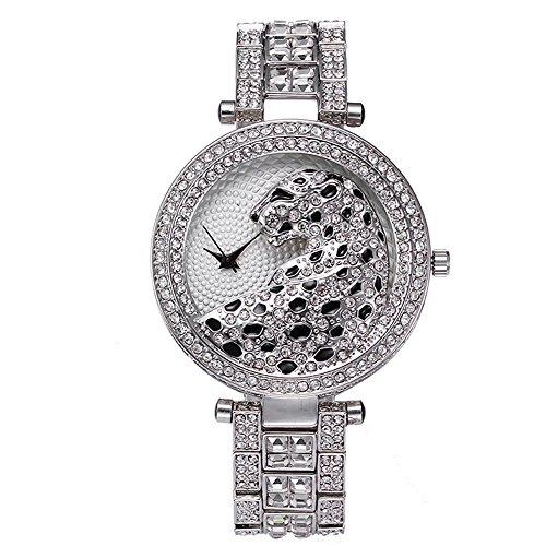 Sheli da donna elasticizzato argento bling diamanti