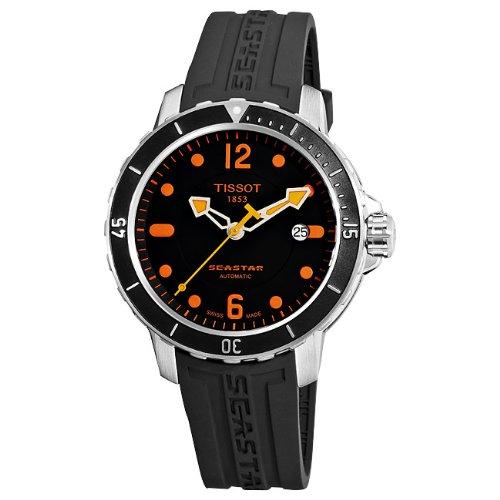 Tissot Herren-Armbanduhr Seastar 1000 Auto Kautschuck T0664071705701