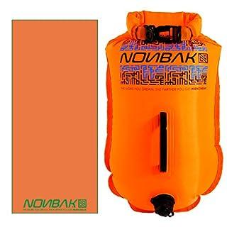 Nonbak Pose, Schwimmen Wasserdicht Größe S 20litros Open Water Schwimmer Triathlet Handtuch Geschenk.