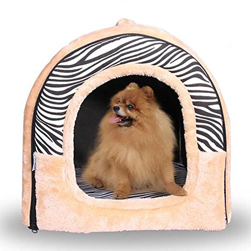 JiaYue Productos mascotas Forma Curva Plegable Perro