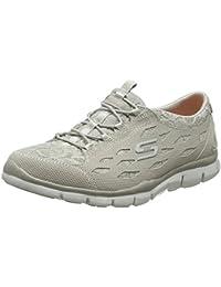 Skechers Gratis-Chic Craze, Zapatillas sin Cordones para Mujer, Beige (Natural), 37 EU
