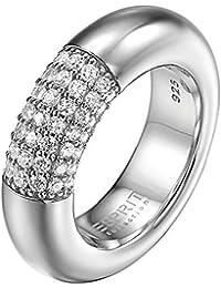 Esprit Collection - ELRG91572A170 - Bague Femme - Argent 925/1000 17.5 Gr - Oxyde de Zirconium