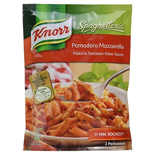 Preisvergleich Produktbild Knorr Spaghetteria Pomodoro Mozzarella Nudel-Fertiggericht 2 Portionen