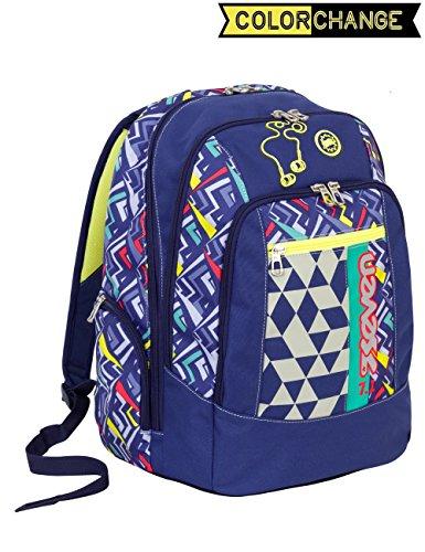 94252497e8 Zaino scuola advanced SEVEN - WIDGET - Blu Giallo - cambia colore 30 LT -  inserti