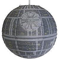 Groovy Star Wars Death Star Paper Light Shade Lamp Shade Official Star Wars Merchandise